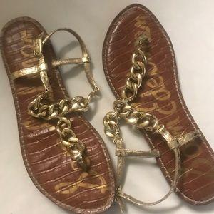 Sam Edelman Gold Sandal
